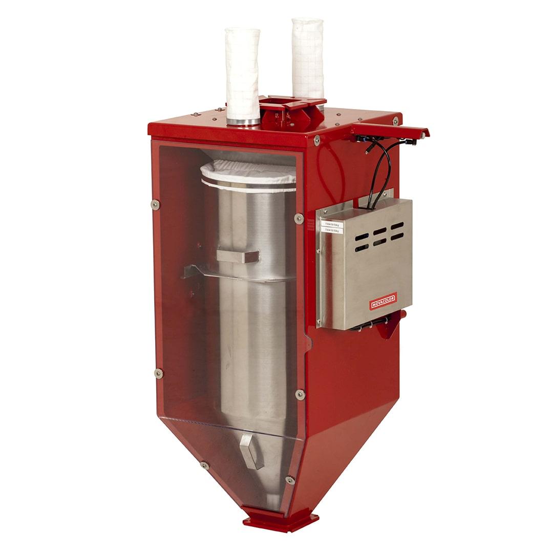 MCWeight P: mesure la capacité d'alimentation réelle d'une extrudeuse consommant de la poudre